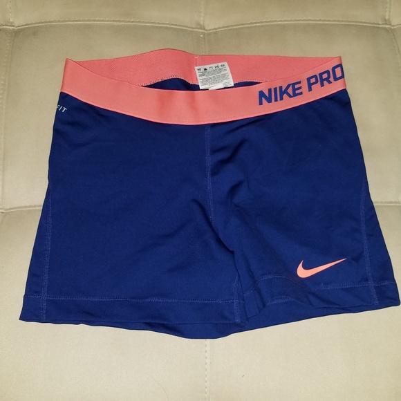 Nike Pants - Nike Pro Dri-Fit Workout Spandex Booty Shorts